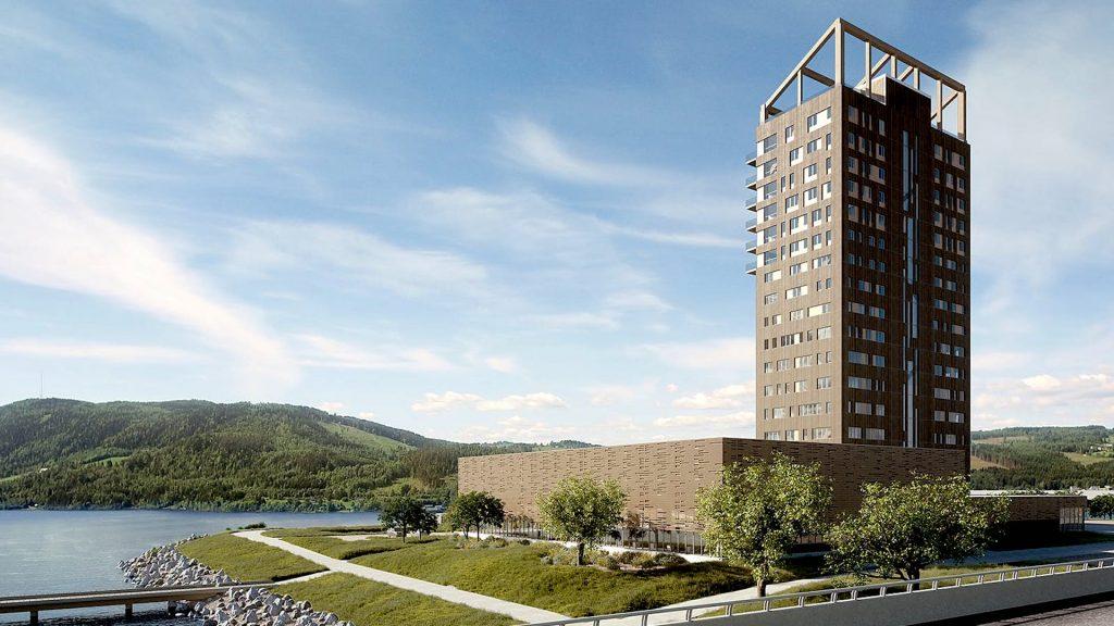 Torre Mjøsa - madera en la construcción