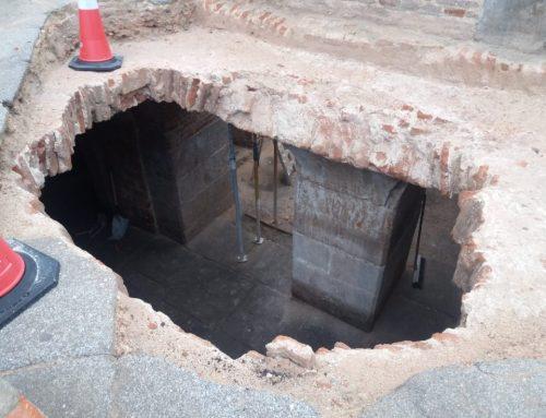 Hallados los sótanos del Palacio Godoy en Madrid