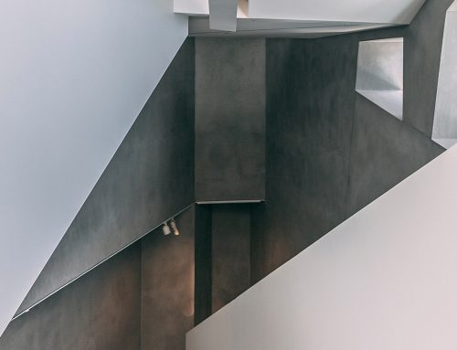 El hormigón  y la madera como base del diseño de interiores