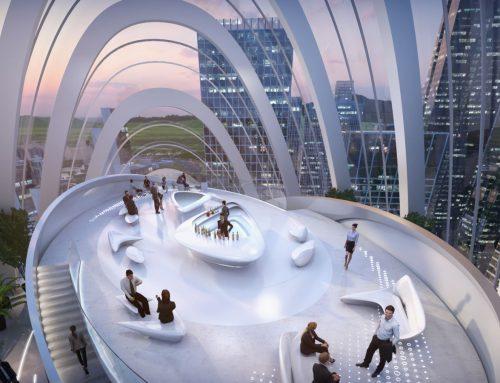 El diseño más futurista en las nuevas oficinas OPPO