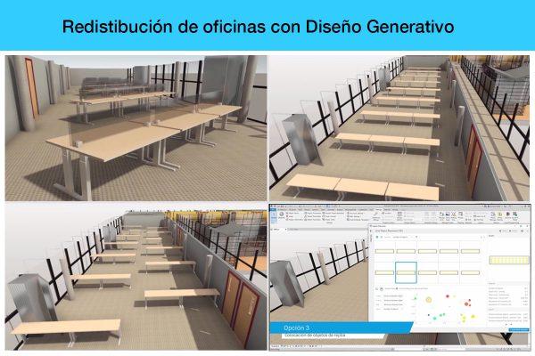 Espacios adaptados al distanciamiento social aplicando Diseño Generativo