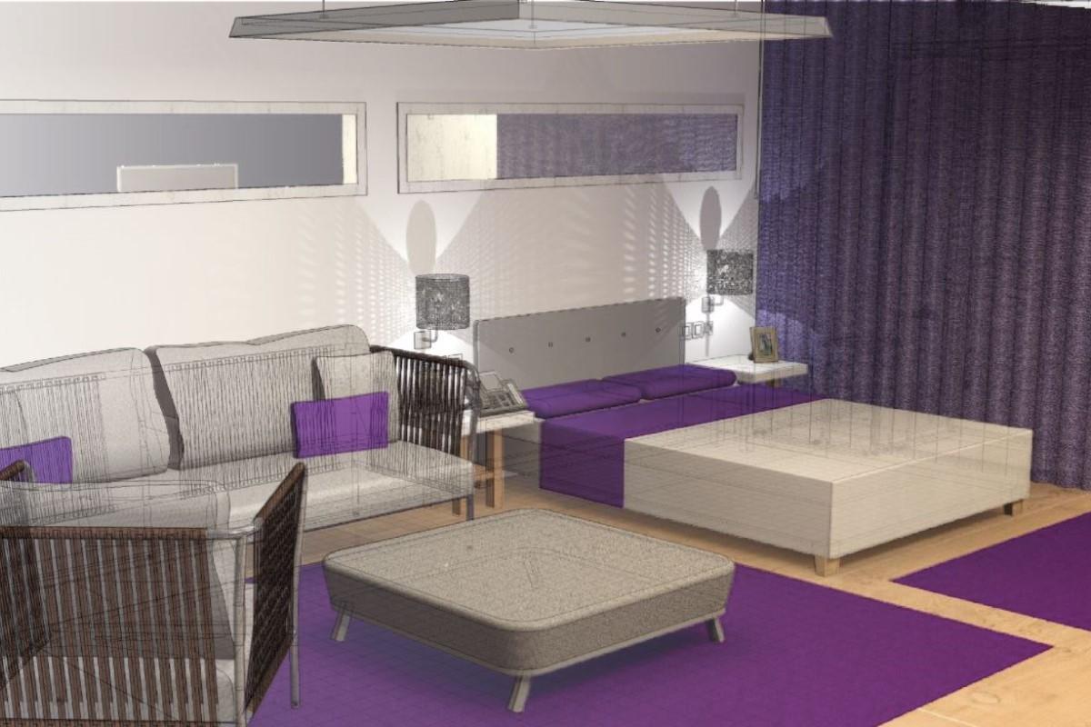 Proyecto BIM en habitación Hotel