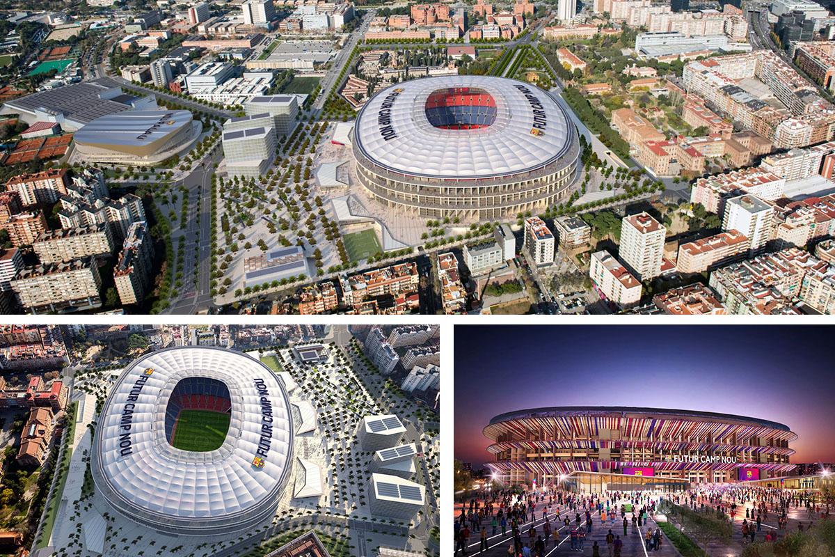 Fútbol y BIM: tecnología para estadios